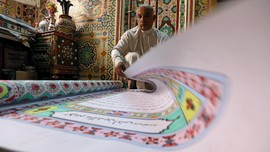 Al-Quran Terbesar dari Mesir Berjuang Diakui Dunia