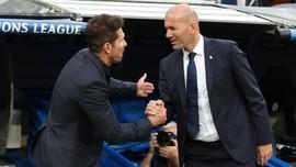 Gaji Zidane di Real Madrid Kalah Jauh dari Simeone