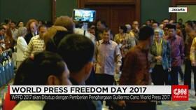 Wapres Hadiri Acara Puncak WPFD 2017