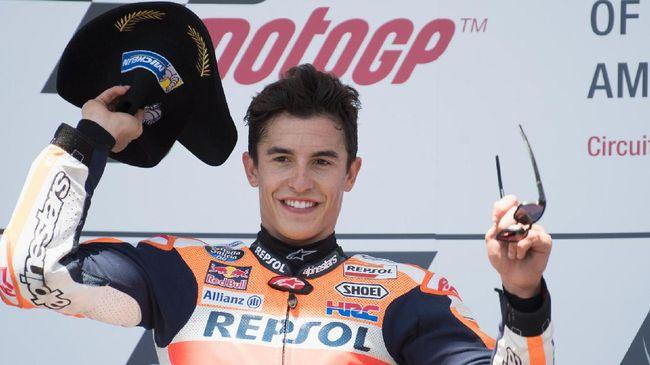 Alasan Marquez Tidak Terkalahkan di MotoGP Amerika Serikat