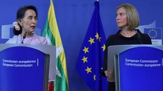 RI, Uni Eropa Harap Myanmar Tepati Janji Repatriasi Rohingya