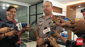 Petinggi Polri Cek Ruang Anggota DPR yang Ditembus Peluru