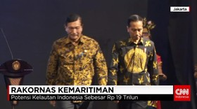 Jokowi Buka Rakornas