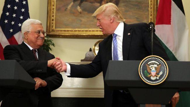 Telepon Abbas, Trump Pastikan Pemindahan Kedubes ke Yerusalem