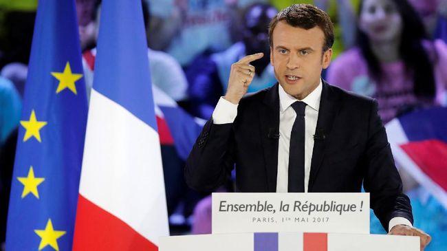 Jaksa Tindaklanjut Laporan Macron soal Berita Hoax Pemilu
