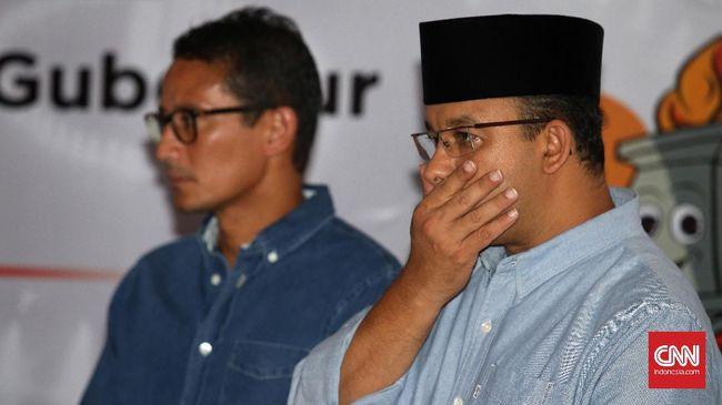 Anies Bungkam soal Reklamasi Teluk Jakarta