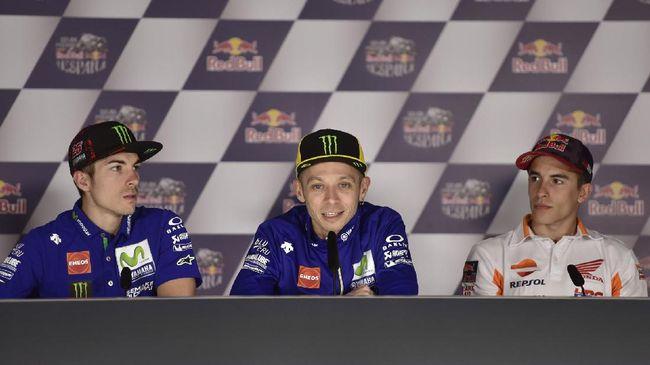 Agostini: Rossi Tak Punya Teman Pebalap Spanyol
