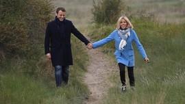 Pedemo Gerebek Teater, Macron dan Istri Dievakuasi