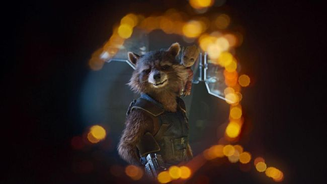 Kisah Rocket Raccoon Tuntas di 'Guardians of the Galaxy 3'