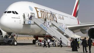 Emirates Alami Turbulensi Sebelum Mendarat di Denpasar