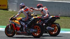 Marquez Juara GP Ceko, Rossi Salah Strategi