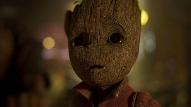 Groot Remaja Nakal Curi Perhatian di 'Avengers: Infinity War'