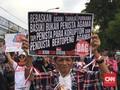 Massa Ahokers Ngotot Ketemu Ahok di Rutan Cipinang