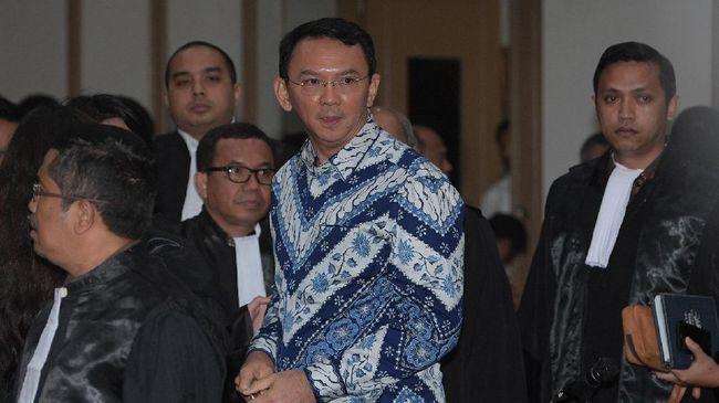 Ahok Larang Pendukung Gelar Penyambutan di Mako Brimob