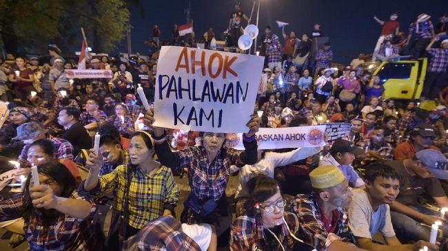 Kecewa Ma'ruf Amin Cawapres Jokowi, Pendukung Ahok Terbelah
