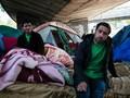 Polisi Gusur Kamp Pengungsian Ilegal di Kota Paris