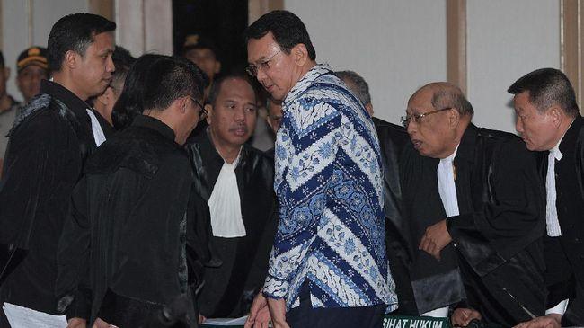 Jaksa Perkara Ahok Tak Persoalkan Hakim Berbeda Pendapat