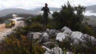 OPM Baku Tembak dengan TNI di Tembagapura, Dua Tewas