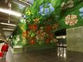 Terpesona Karya Seni di Stasiun Kereta Bawah Tanah Stockholm