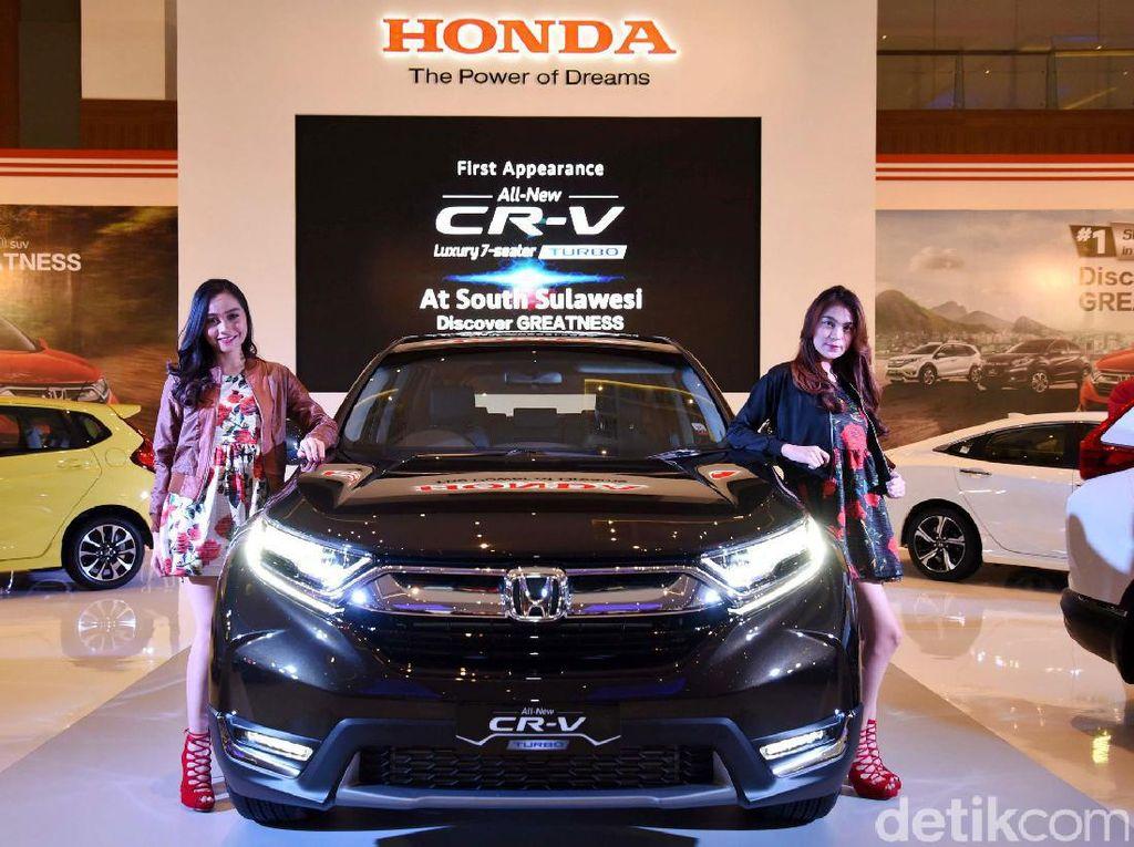 Tahun ini, GIIAS Makassar diikuti oleh 7 merek kendaraan penumpang, yaitu Daihatsu, DFSK, Honda, Mazda, Mitsubishi Motors, Renault, dan Wuling. Istimewa/Dok. PT Honda Prospect Motor.