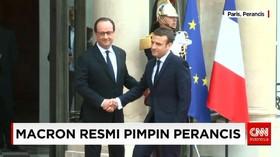 Macron Resmi Pimpin Perancis