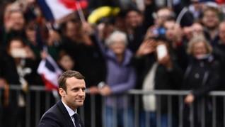 Macron Komentari Keputusan Iran Soal Pengayaan Uranium