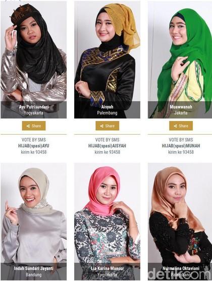 Babak Voting Sunsilk Hijab Hunt 2017 Dimulai Hari Ini! Begini Caranya