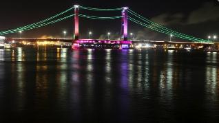 Jembatan Ampera Palembang Mendunia Melalui Point Blank