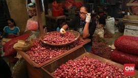 Mayoritas Harga Pangan Naik, Bawang Merah Paling Tinggi
