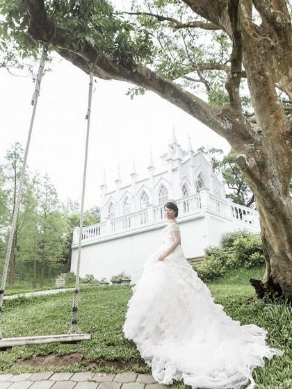 Kisah Haru Wanita Penderita Kanker, Buat Foto Pernikahan Tanpa Pendamping