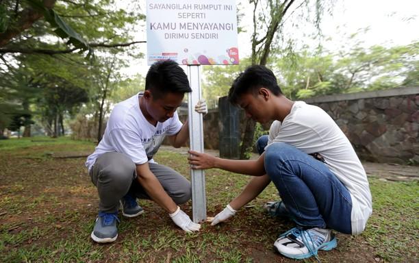 Siswa SMK Hijaukan Bogor