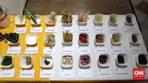 Indonesian Food Tour 2017 (IFT) digelar di lima kota di Eropa yaitu Barcelona, Bratislava, Praha, Brussel, dan Rotterdam. Dalam ajang ini, IFT tak cuma menghadirkan berbagai makanan Indonesia, tapi juga memperkenalkan bumbu dasar kuliner Indonesia. (CNN Indonesia/Christina Andhika Setyanti).