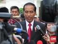 Jokowi Sambut Raja Swedia dengan 'Tangan Tuhan'