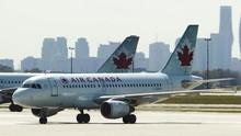 Tertidur Pulas, Penumpang Air Canada Ditinggal Saat Mendarat