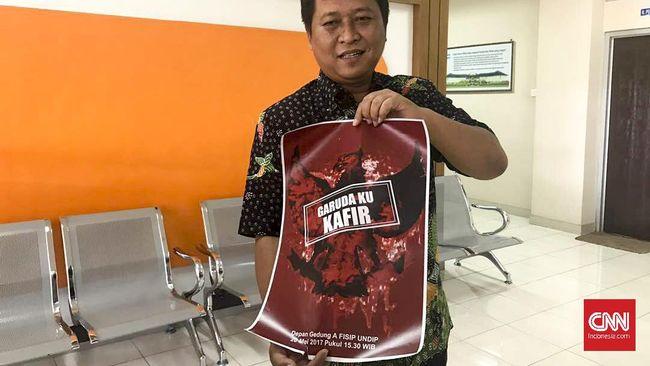 Kampus Undip Dihebohkan Poster 'Garudaku Kafir'