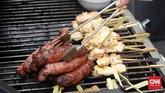 Di Barcelona, tepatnya di Gran Hotel La Florida, Renatta dan Maxie berkolaborasi dengan chef Ivan Tarrago untuk menghadirkan kombinasi cita rasa katalunia dengan Indonesia yang unik. (CNN Indonesia/Christina Andhika Setyanti).