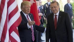 Lupakan Konflik AS-Turki, Trump Mengaku Penggemar Erdogan