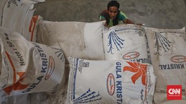 Pemerintah Buka Keran Impor Gula Mentah 1,8 Juta Ton