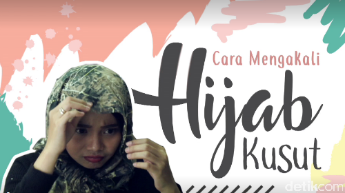 Video: 3 Cara Mengakali Jilbab Kusut Saat di Kantor