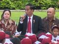 Aksi Dongeng Jokowi untuk Anak Indonesia di Istana