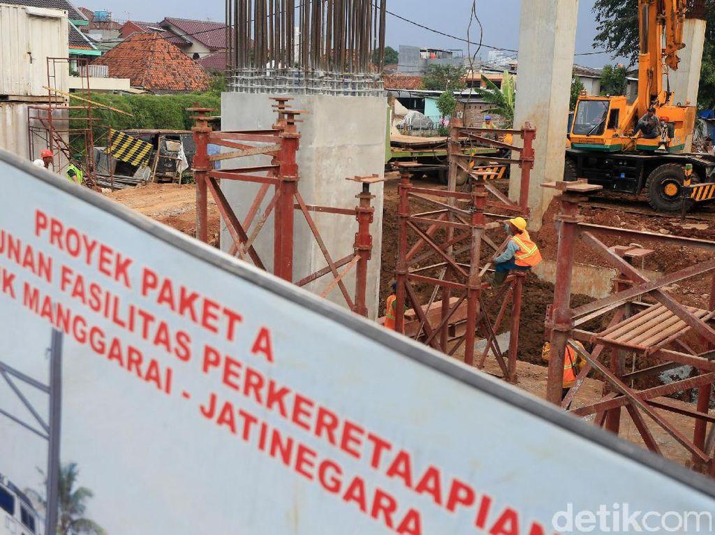 Kebutuhan membangun infrastruktur nasional hingga 2019 sekitar Rp 5.000 triliun.