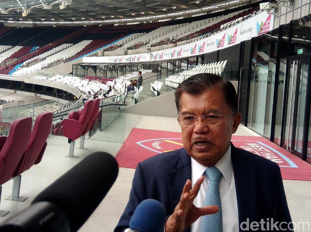 Wapres JK yang juga ketua tim pengarah kepanitiaan Asian Games 2018 ini ingin fasilitas untuk Asian Games 2018 yang dibangun bisa dimanfaatkan juga oleh masyarakat luas. Misalnya untuk atletik, konser musik, sepak bola dan lain-lain.