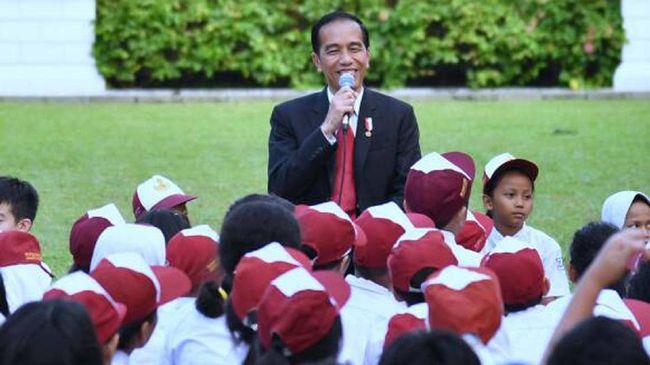 Jokowi Tak Mau Ada Anak Putus Sekolah