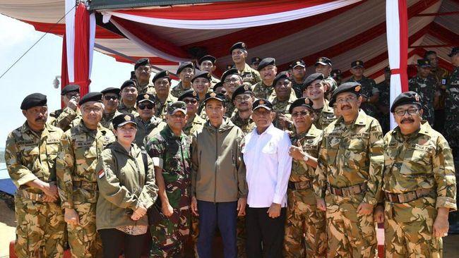 Sebanyak 23 Gubernur Latihan Ala Militer di Natuna