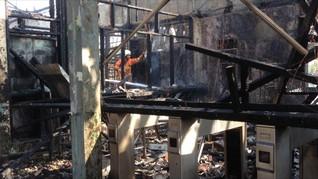 Usai Terbakar, Stasiun Klender Akan Kembali Beroperasi Kamis