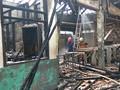 Kondisi Stasiun Klender Pasca Kebakaran