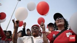 Karnaval Kampanye Damai, Monas Menjelma Lautan Massa