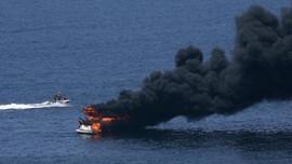 KM Fungka Terbakar di Perairan Sulawesi, 8 Tewas