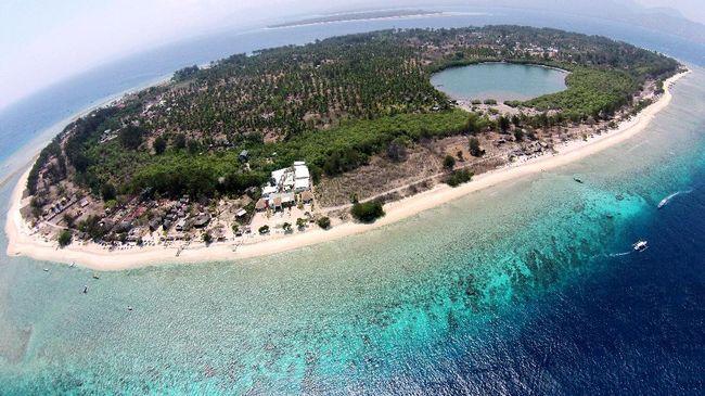 """Hasil gambar untuk Pantai Gili Meno, Pulau Gili, Nusa Tenggara Barat"""""""