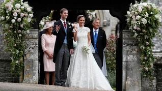 Pernikahan Pippa Middleton Jadi Inspirasi Calon Pengantin